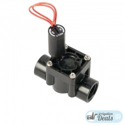 "Hunter PGV 1"" 24V 9V Solenoid Valve with flow control - Female Male"