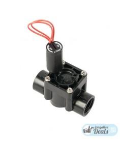 """Hunter PGV 1"""" 9V Electrovalvula con Control de Caudal -Hembra-"""