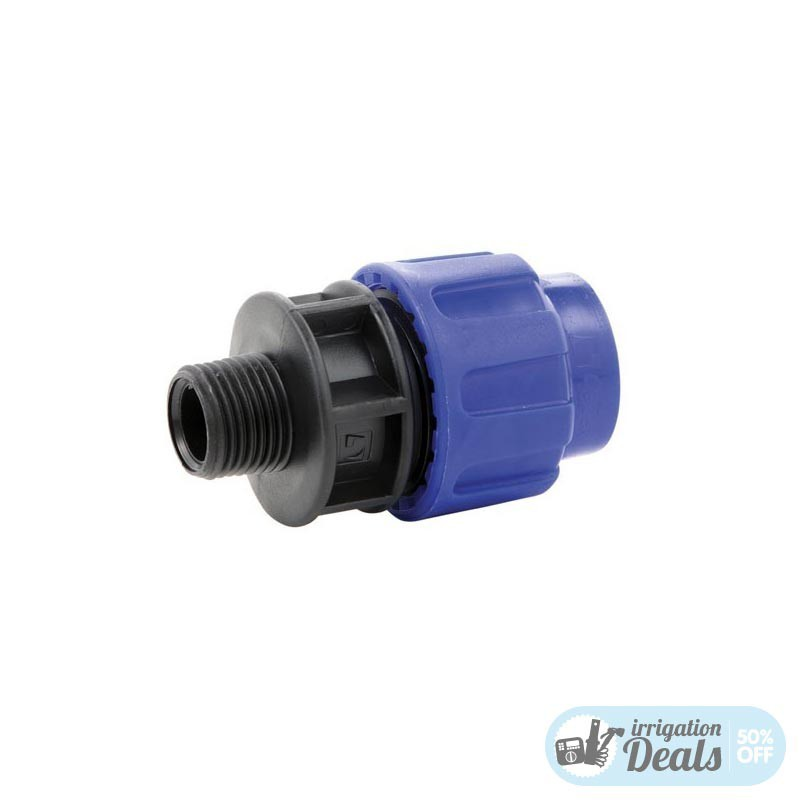 Male Adaptor - Compression fittings for irrigation