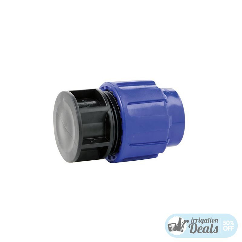 End Cap Plug - Compression fittings for irrigation