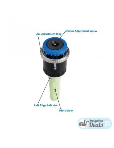 Tobera Giratoria Hunter MP Rotator 1000 360°- MP1000-360